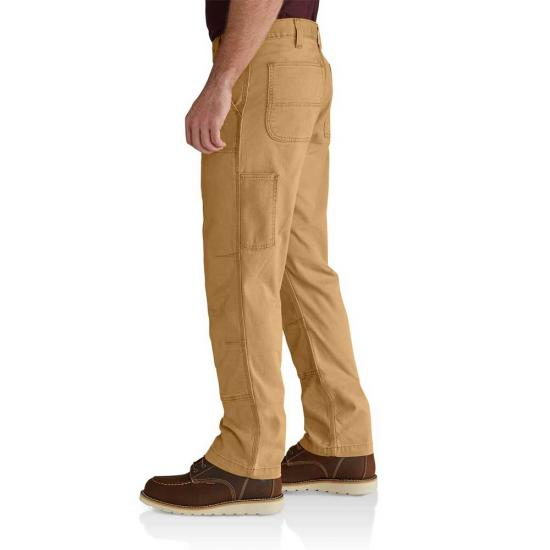Rugged Flex Rigby Double Front Work Pant (Gravel)